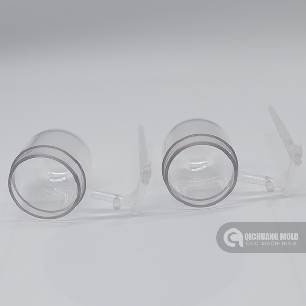 PC/ PMMA Transparent Prototype Machining